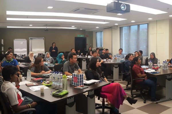 Training for MacFood (M) Sdn Bhd on 'How to Recruit Talents by understanding their behaviour'.