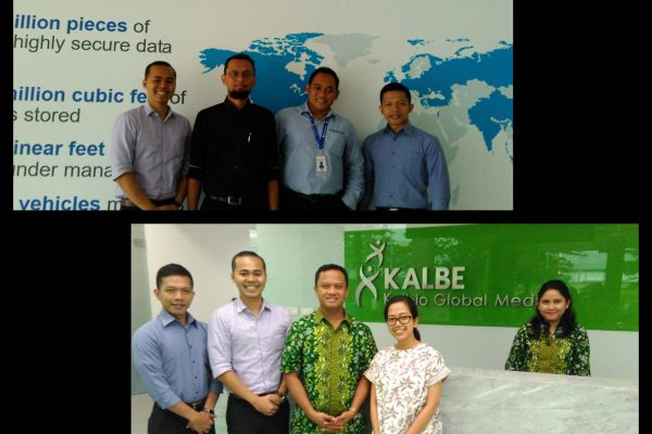 Congratulations to team Indonesia for two (2) new successful placement for Iron Mountain and Kalbio Global Medika (a subsidiary of PT Kalbe Farma Tbk) on Monday, 16th of October.