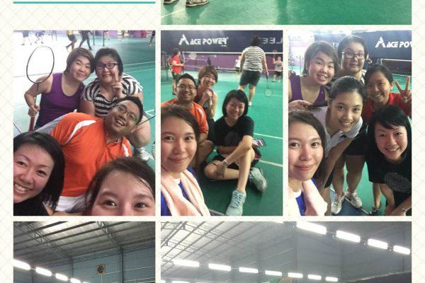 VHR Badminton Night