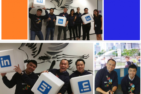 LinkedIn office visit in Singapore!