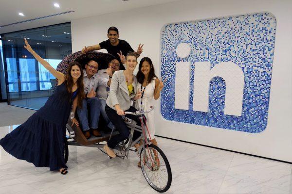 VHR Visits Linkedin HQ 2016!