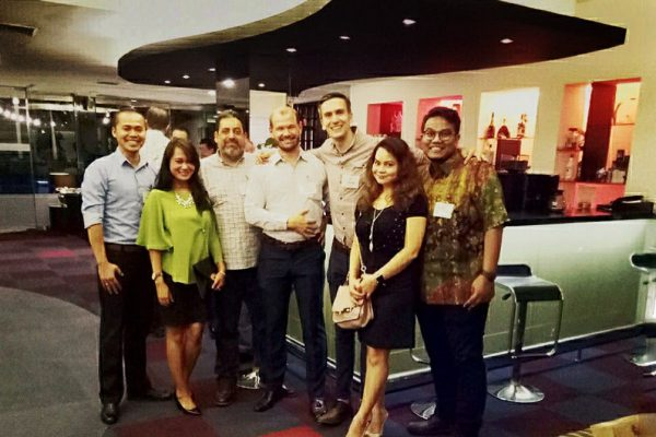 Throwback Thursday post: Our Country Manager, Hendrik Gunawan and Senior Consultant (BD), Gadys Bhumi from Indonesia at the recent AmCham Indonesia August Networking Evening (10th August), held in Grand Kemang Hotel.