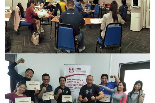 Throwback to last weekend where our MD FangKai Low conducted a MBA class on HR Management.