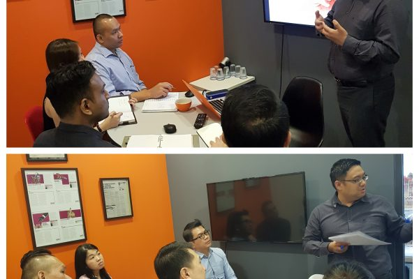 A fruitful 2-day in-house training session to realign our consultants' search techniques!