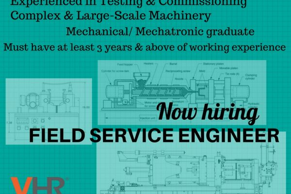 Our client is looking for a Field Service Engineer who is experienced in testing and commissioning complex and large-scale machinery. Click on the image to read more.