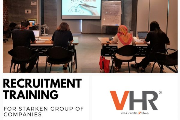 VHR was invited by Starken to provide a recruitment training to their HR team.  We are honoured to have this opportunity and we hope that the training session was helpful. Cheers to more collaborations in the near future!