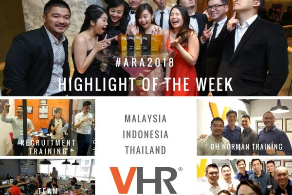 A quick #throwback to last week, as it was a victorious week filled with lots of fun and laughter for team VHR!