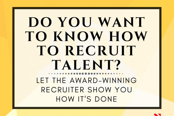 Do you want to know how to recruit talents? Join our training and let us show you how it is done!