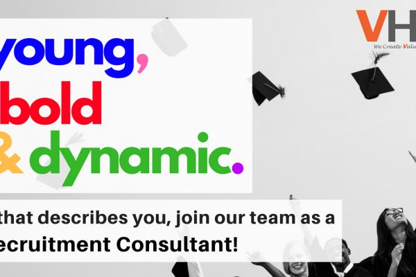 We are hiring! Join us as a Recruitment Consultant today!