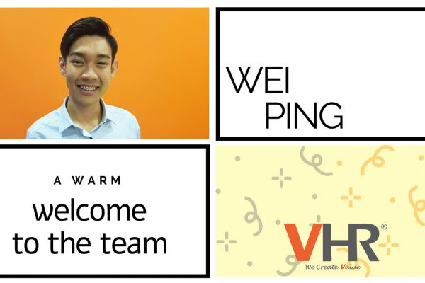 We are happy to announce the joining of a new team member at VHR Malaysia, let's welcome Gan Wei Ping, our youngest Recruitment Consultant to the team!