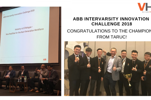 We are honoured to share that our MD, Low Fang Kai was one of the Industry 4.0 Dialogue panellists for ABB Intervarsity Innovation Challenge 2018 today. It was an eye-opening experience to meet our young yet talented future leaders, and we hope all of you had a fruitful session. Kudos to all participants!