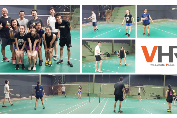Nothing beats a mid-week body-aching hype with a good ol' badminton session! Living a healthier and active lifestyle is one of our goals of 2019 and we shall make it stick.