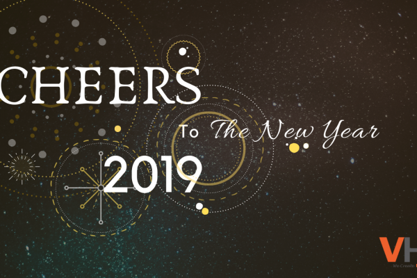 Goodbye 2018, welcome 2019! Team VHR wishes everyone a fun-filled, fantastic and smashing New Year!