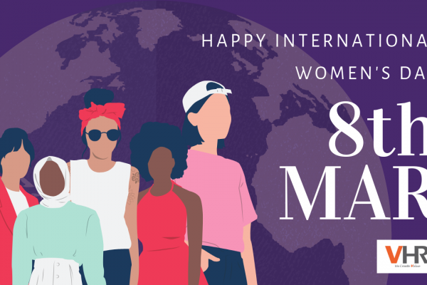 Often we leave our appreciation unspoken. Today we all say Happy Women's Day! #BalanceforBetter