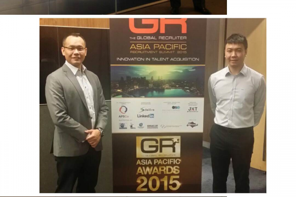 Attending the Global Recruiter Summit in Suntec Singapore Convention Centre