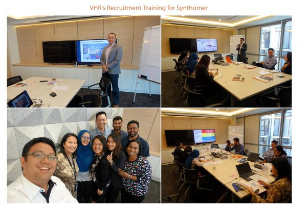 VHR conducts first ever recruitment training for Synthomer!