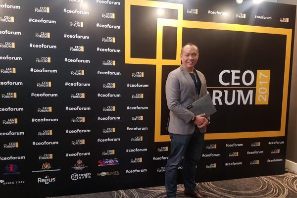 Our Managing Director, Low Fang Kai at the SME CEO Forum 2017