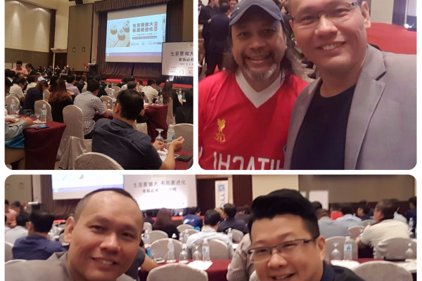 Our Managing Director, Low Fang Kai at the YYC Advisor's 'Evolve And Take Your Business To Greater Heights - 8 Must Have Business Strategies' Conference last week, 17 - 18 August.