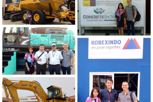 Team Indonesia at the Mining Indonesia 2017 last week, the 13th - 16th of September, held at  the Jakarta International Expo, Kemayoran.