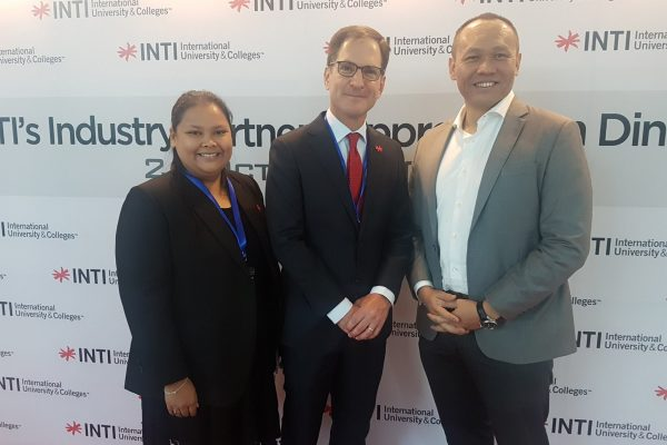 Thank you, INTI International University & Colleges for inviting us to their Industry Partners Appreciation Dinner.