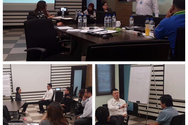 2nd training for hiring managers of MacFood on 'How to Recruit Talent?' yesterday (1st Nov 2017).