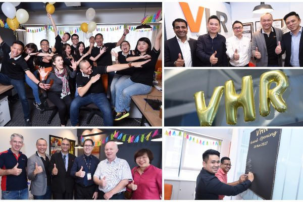 Part 2: VHR's Grand Opening on Monday, 20th Novemer 2017.