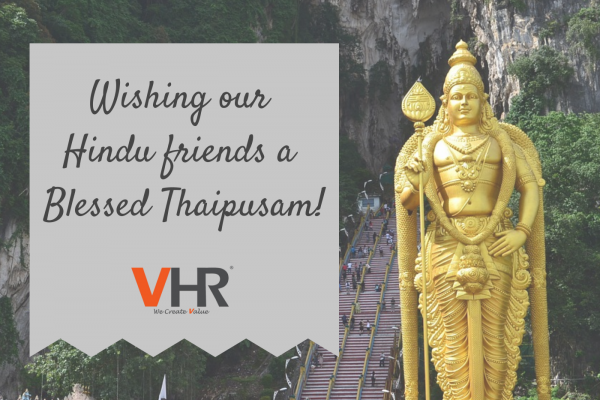 May all our Hindu friends have a blessed Thaipusam!