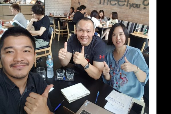 "Say ""Hi"" to our Thai Country Manager, Marc and Principal Consultant, Satanee! Do drop them an Inmail to learn more about the Executive Search Services VHR provide in Thailand!"