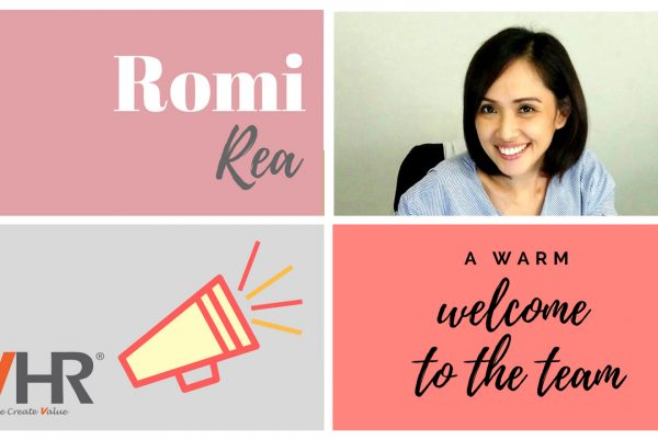Meet Romi Rea, the latest addition to team VHR! She is joining us as a Recruitment Consultant at our Indonesia office. Welcome to the team!