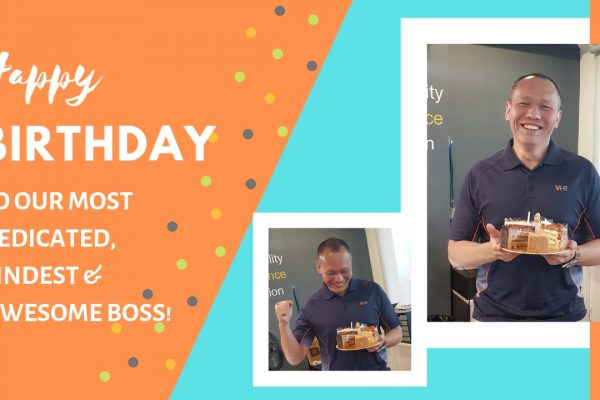 Whoop! Whoop! Wishing our boss, Low Fang Kai a Wonderful Birthday! May all your wishes, goals and dreams this year come true.