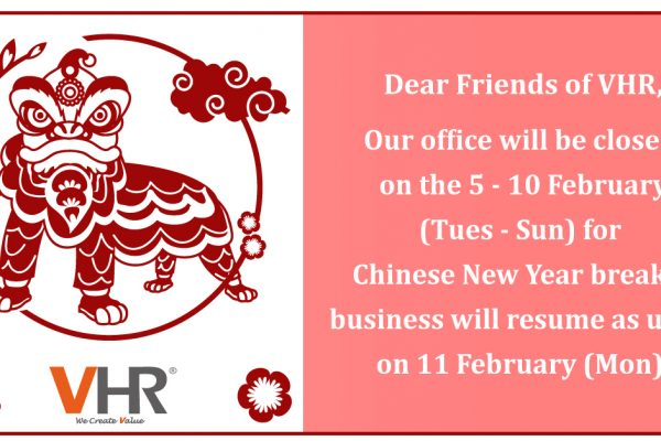 A quick announcement here, our team in Malaysia will be away for Chinese New Year celebration from the 5th - 10th of February (Tues - Sun) and will be back to work on the 11th of February (Mon). Thank you!