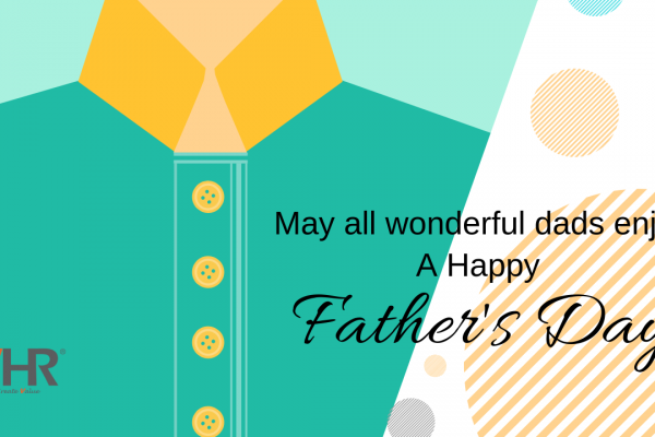 Wishing all new dads, old dads, granddads, dads-in-law, stepdads, serious dads, goofball dads, cool dads and a million fatherly figures out there a Happy Father's Day!