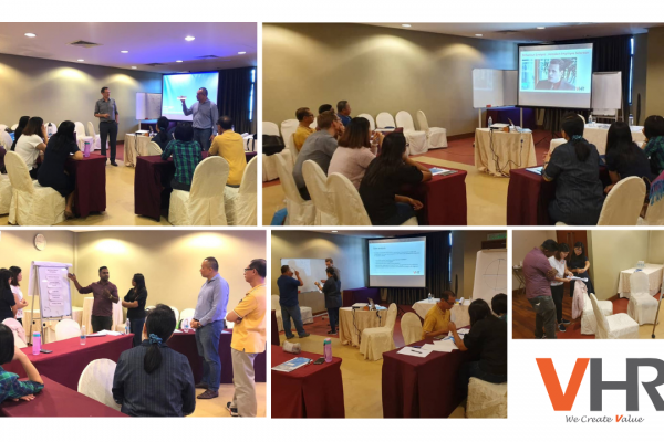 On last Friday, 31 May, Low Fang Kai, MD of VHR Consultancy was invited to conduct a group competency training for our client, Saxonia Malaysia. The training went well and we sure hope the information shared were beneficial to all participants. A huge thanks to Koen Davina for having us!