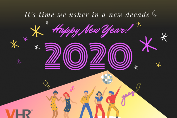 Team VHR wishes everyone a blessed new year's eve and let's groove our way to the start of a new decade! Happy New Year 2020!