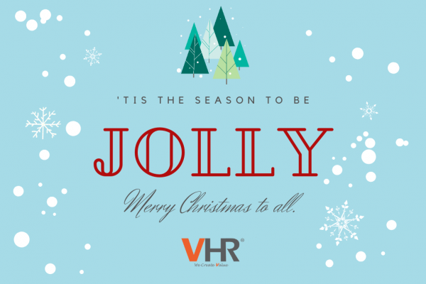 Team VHR wishes everyone a Merry Christmas and Happy Holidays!